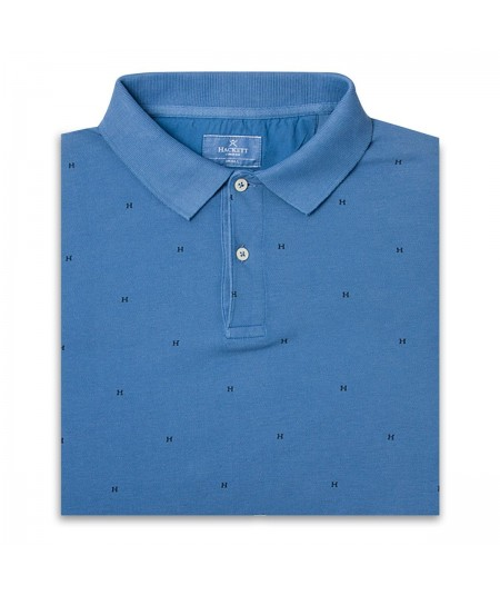Hackett Polo HM562090-534 Azul